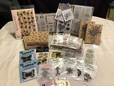 Lot Of Decorative Stamps. Great for Greeting Cards, Scrapbooking, etc All New