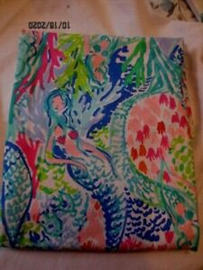 2 Pottery Barn LILLY PULITZER Mermaid Cove Standard Pillowcase NWOP SO COOL