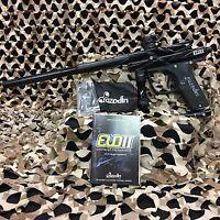 NEW Azodin Blitz Evo 2 Electronic Paintball Gun Marker - Black/Black