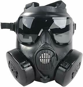 M50 Airsoft Protective Gas Mask Tactical, Professional Full Face Eye Protection