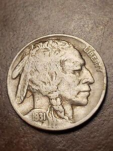 1931 S Buffalo Nickel