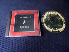 CD JOE JACKSON-Night Music   10 canzoni 1994   Maire Brennan