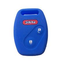 2+1 Buttons Navy Blue Key Remote Key Fob Skin Key Cover Key fit for Honda