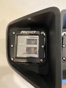 Rigid Brand LED Fog Lights 2020 Toyota Tundra TRD Pro