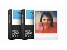 2x Pellicola Istantanea Polaroid 600 a Colori Impossible Color 600 (2pz.)