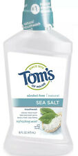 Tom's Of Maine Sea Salt Alcohol Free Mouthwash Expires 01/2021 New