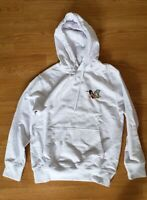 Palace Skateboards Smoke Signals Hooded Sweatshirt Hoodie White Sz Small
