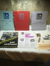 Lot 6 Rare 1970 Prince Hydraulics Brochure/Catalogs Engineering Data Booklets