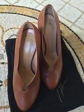 Women's Heels Zz28 Damenschuhe 40 Pumps Giuseppe Zanotti Satin Weiß Braut Made In Italy