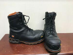 "Men's Timberland Boondock 8"" Work Boots Size 10"