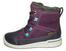 Ecco Girls First Gore-Tex Burgundy Snow Boots UK 6 EU 23 US 7-7.5