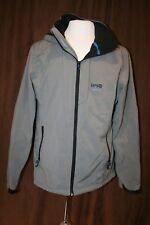Jack & Jones Men's Lightweight Hooded Jacket Casual Coat Gray XL