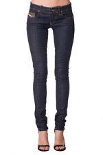 RRP €120 DIESEL W25 L32 Grupee 0881K STRETCH Low Waist Skinny Jeans