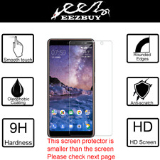 Premium Real Tempered Glass Screen Protector Cover Film Guard For Nokia 7 Plus