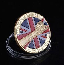 D-Day | UK Pegasus Bridge | Benouville | Airborne | Gold Plated Coin