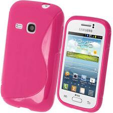 Custodie preformate/Copertine rosa per Samsung Galaxy Young