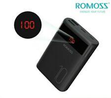 Romoss Power Bank 10000mAh 2USB Mini Carica Batteria Esterno Portatile Schermo