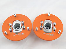 Camber Plates fit E46 Drift BMW top mounts Front x2 - Domlager orange