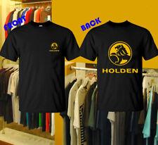 Holden Racing Logo Men's Clothing Black T shirt Short Sleeve S-2XL