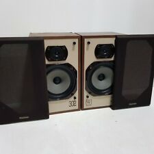More details for pair of vintage wharfedale 302 speakers 70w 8 ohms