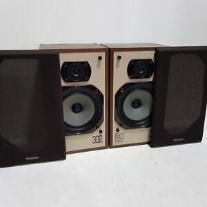 Pair of Vintage Wharfedale 302 Speakers 70W 8 Ohms