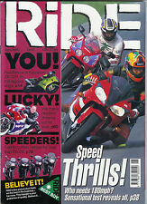 RIDE Jun 2000 NC30 R1 T595 Blackbird Thunderace ZX-12R