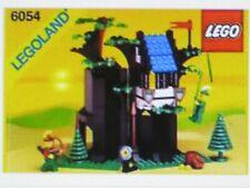 LEGO Robin Hood Baumhaus - Nr. 6054  - m.Aufbauanleitung -  Vitrinenstück