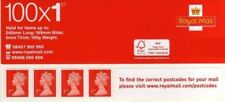 royal mail book of 100 x 1st class postage stamps. New and unused