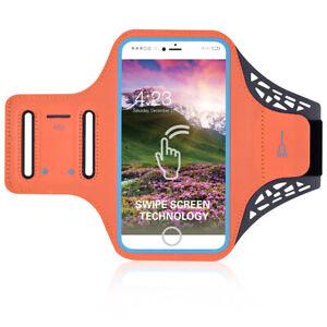 Gray Mesh Running Sport GYM Armband for Motorola One Moto G7 G8 Plus Z4 Z3 Play