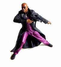 """Mcfarlane Movies MATRIX  MORPHEUS 6"""" detailed toy action figure with weapon"""