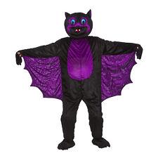 Adulto grande capo spaventosa BAT NUOVO Costume Mascotte Costume SPORTS Animale Halloween