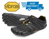 🇺🇸VIBRAM FIVEFINGERS V-TRAIL 2.0 Black Yellow Trail Running Men's Shoes NEW!