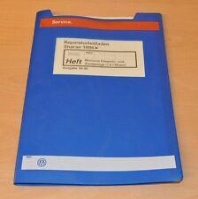 VW Sharan AWC 1,8 L Einspritz Zündanlage Werkstatthandbuch Reparaturleitfaden