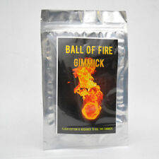 Magician's Ball of Fire Gimmick Fireball Gun Magic Trick (Flash Paper Required)