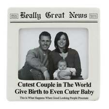 Really Great News Cutest Couple Ever Cuter Baby 4 X 5 Photo Frame 4032439