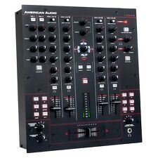 American Audio 14MXR 4-channel preamp Midi mixer with built-in 4x4 Sound Card