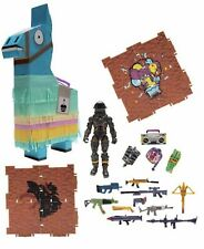 "Jazwares Fortnite Birthday Llama Loot Piñata w/ 4"" Dark Voyager Figure 23 Pieces"