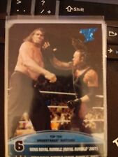 2013 Topps Best of WWE Top Ten Undertaker Matches #6 Wins Royal Rumble