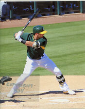 JOSH DONALDSON Photo in action Oakland A's 2014 (c) #2