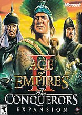 Age of Empires 2 II the Conquerors Expansion PC new CD