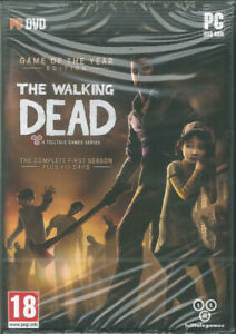 the Walking Dead, Game of the Year Edition & 400 Days First Season, PC Game, NEW