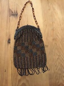 1920  Vintage  Beaded Bag   Authentic