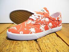 HUF FOOTWEAR SUTTER SNEAKER NEU RED-HAWAIIAN US 8 EUR 40,5 HUF FOOTWEAR