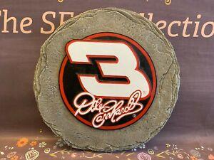 "Dale Earnhardt # 3 12"" STEPPING STONE Wall Hanging 2003 NIB Team Sports America"