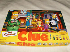 The Simpsons Clue 2nd Edition Board Game – Complete