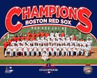 Boston Red Sox 2018 World Series Champions 8x10 Photo Team picture poster Print