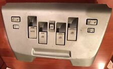 03 04 05 06 Navigator Center Console Mounted Master Switches Silver OEM