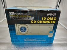 Xtreme Sound 10 Disc Cd Changer W/ Remote Compact Disc Digital Audio New!