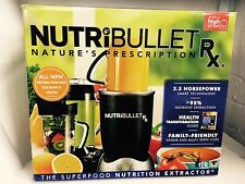 Original NutriBullet Rx 1700W Blender/Mixer Extractor 2.3 HP Powerful Blender UK