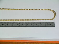 "Collier maille palmier chute "" Gold "" or jaune 18 ct - 42.2 cm"